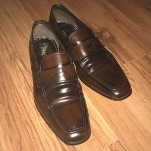 Brown Prada Loafers PRADA